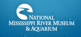 [National Mississippi River Museum & Aquarium Logo]