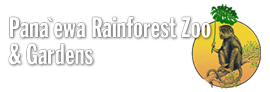 [Pana'ewa Rainforest Zoo Logo]