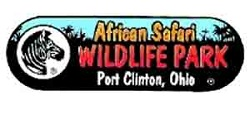 [African Safari Wildlife Park Logo]