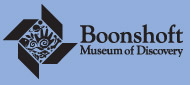 [Boonshoft Museum of Discovery Logo]