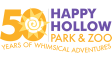 [Happy Hollow Park & Zoo Logo]