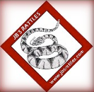 [JB's Rattles Traveling Reptile Zoo Logo]
