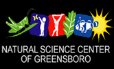[Natural Science Center of Greensboro Logo]