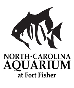 [North Carolina Aquarium at Fort Fisher Logo]