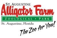 [St. Augustine Alligator Farm Zoological Park Logo]