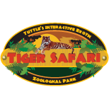 [Tiger Safari Exotic Wildlife Sanctuary Logo]