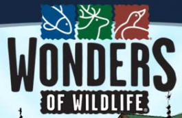 [Wonders of Wildlife Museum & Aquarium Logo]