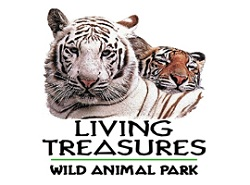 [Living Treasures Animal Parks Logo]