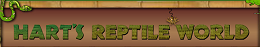 [Hart's Reptile World Logo]
