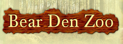 [Bear Den Zoo Logo]